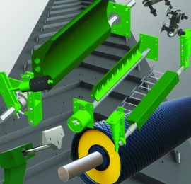 Conveyor belts, presses, and consumables