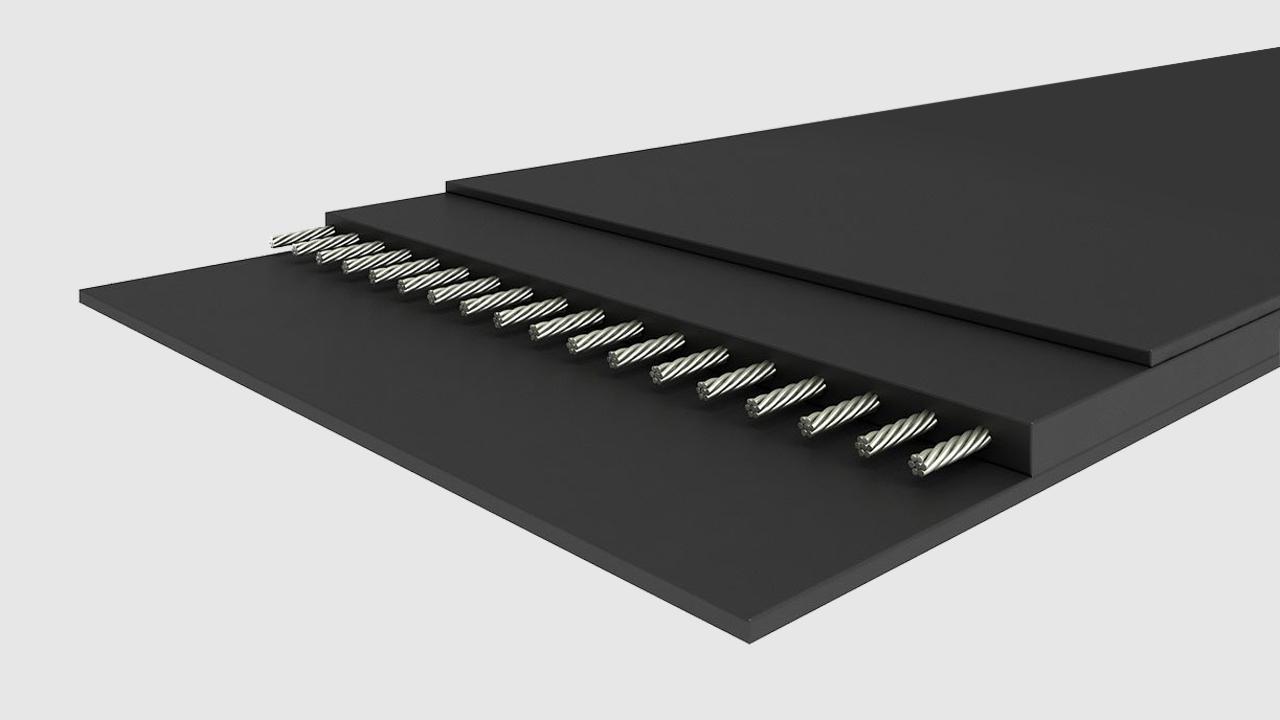 01 Гладки гумено-транспортни ленти - Multi-ply belts, Steelcord belts