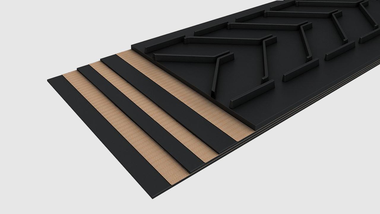 02 Профилни гумено-транспортни ленти - Profiled belts