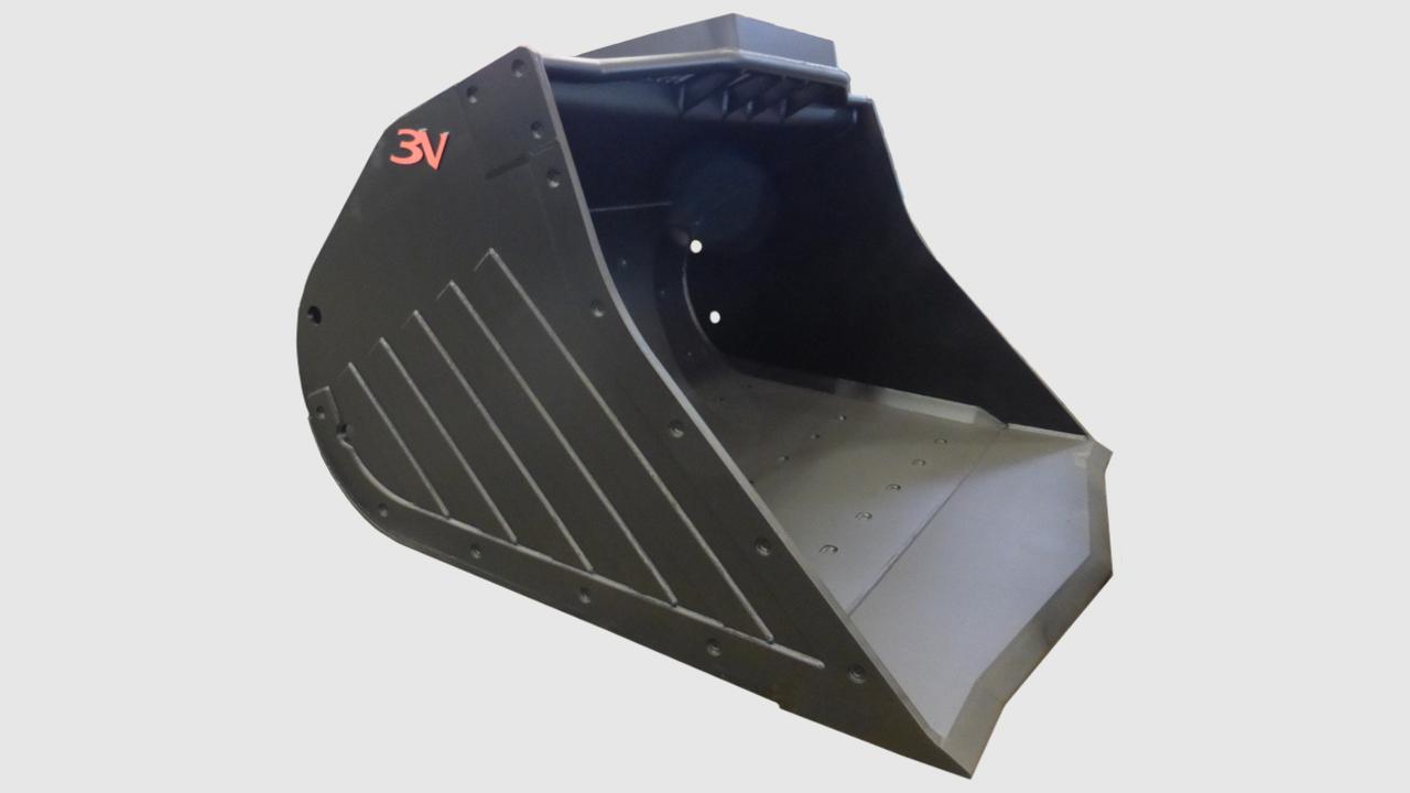 12 Кофа за подземен товарач - Underground mining bucket