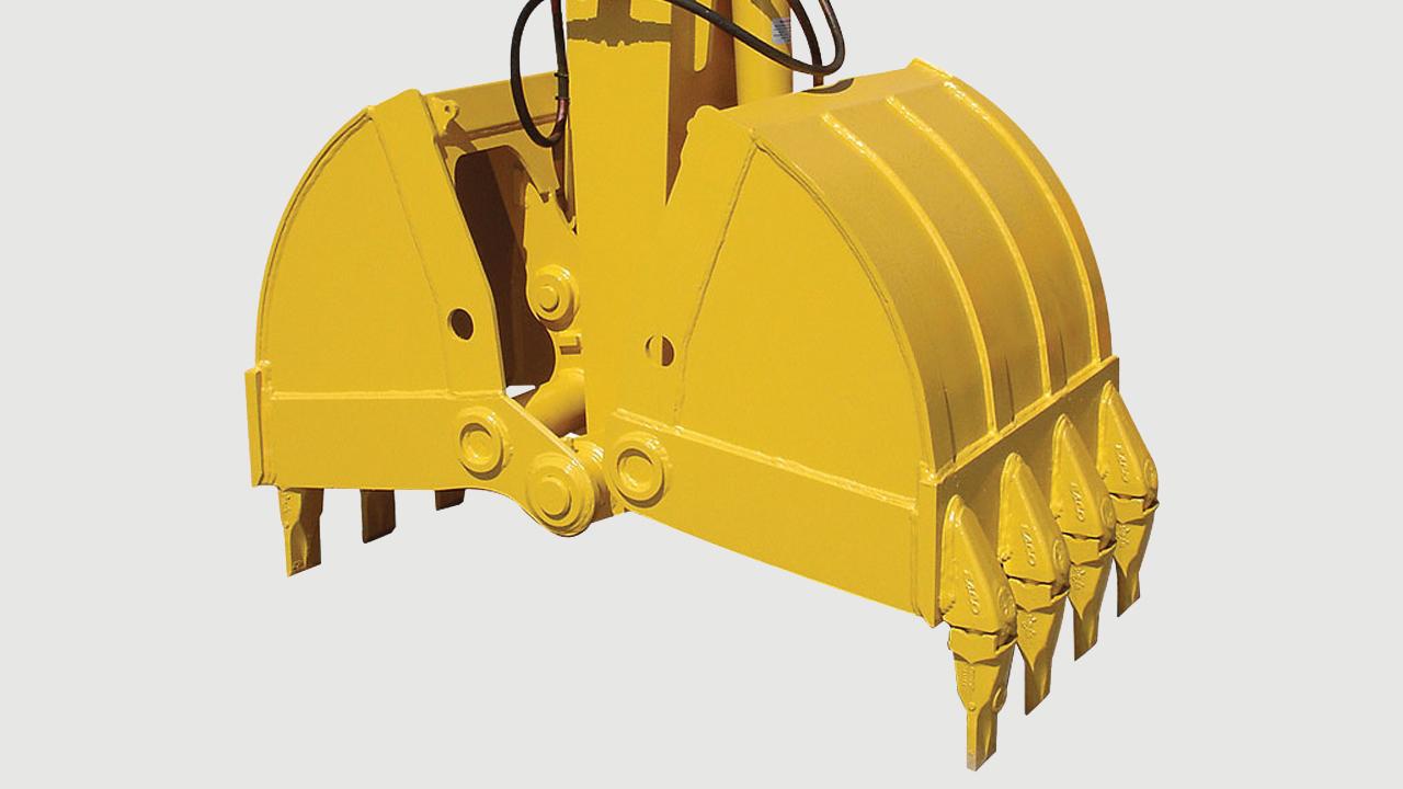 15 Грайферна кофа - Clam shell bucket