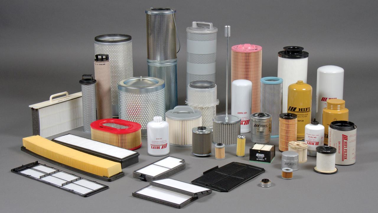 Филтри за строителни машини - Construction equipment