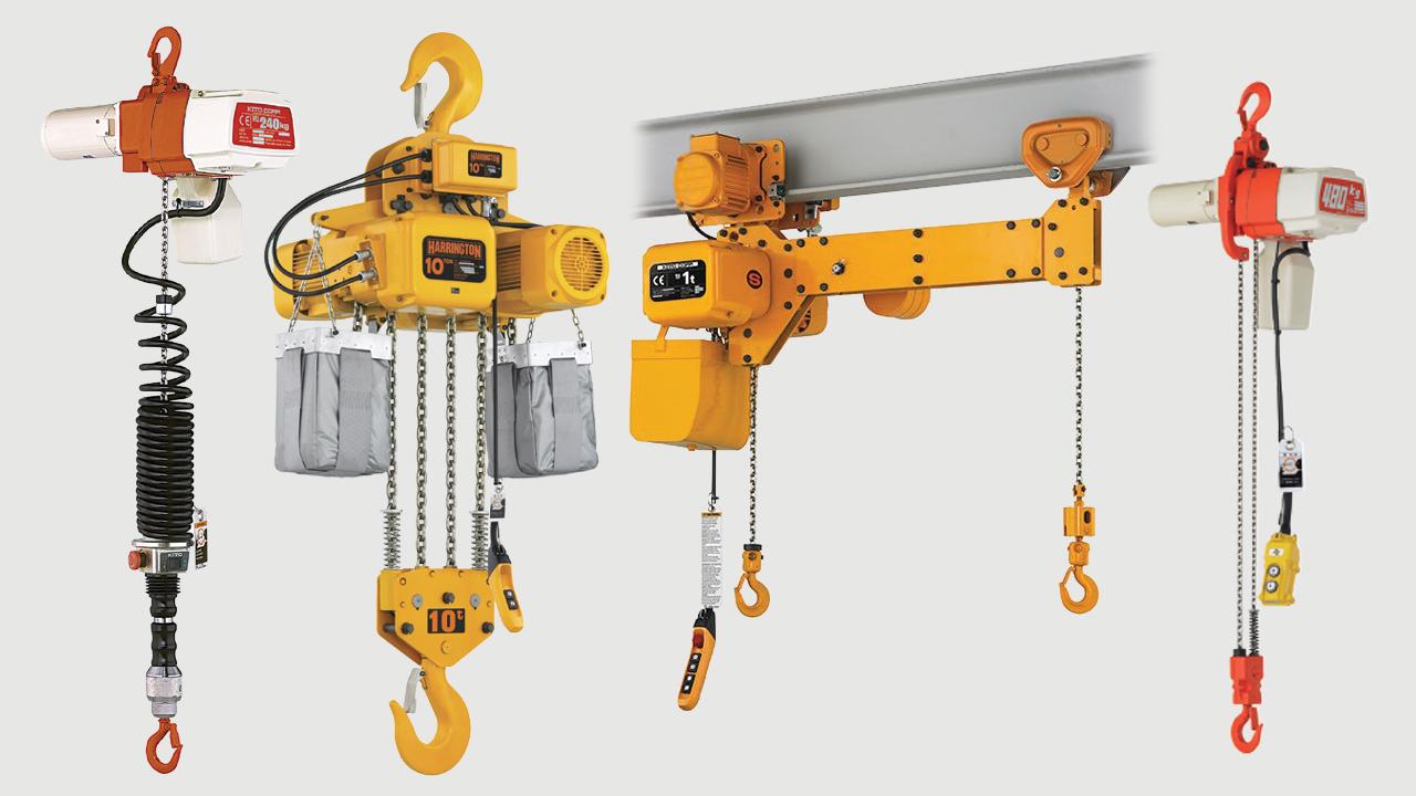 Електрически верижни лебедки - Electric chain hoists