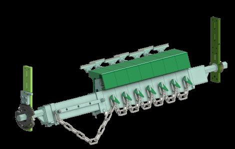 Санрок достави най-новия вариант на чистачи за гумено-тарнспортни ленти